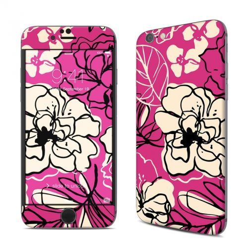 Black Lily iPhone 6s Skin