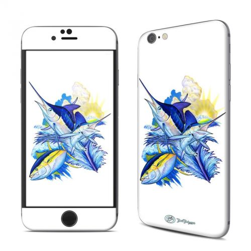 Blue White and Yellow iPhone 6s Skin