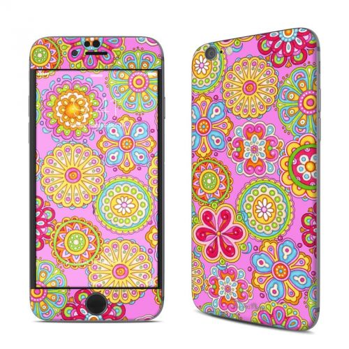 Bright Flowers iPhone 6s Skin