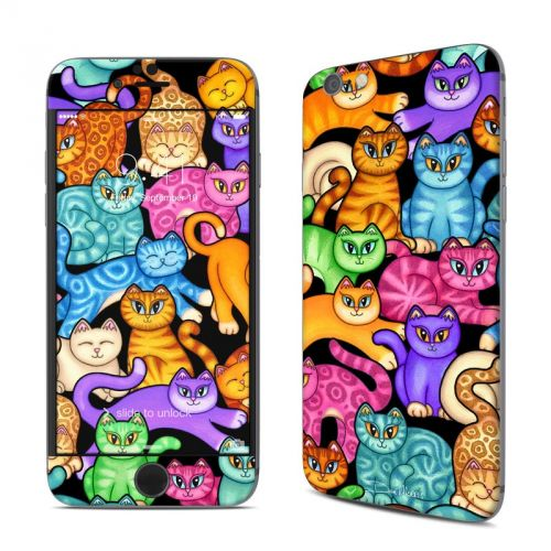 Colorful Kittens iPhone 6s Skin