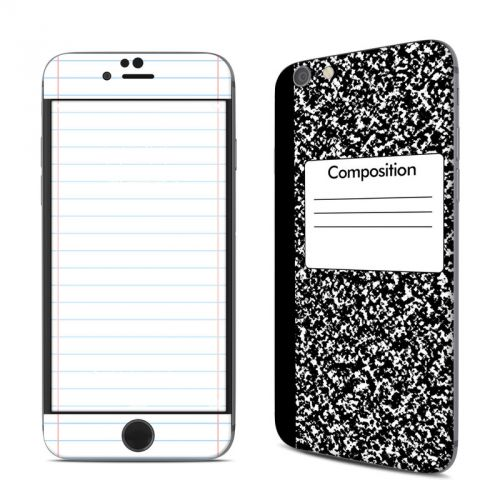 Composition Notebook iPhone 6s Skin