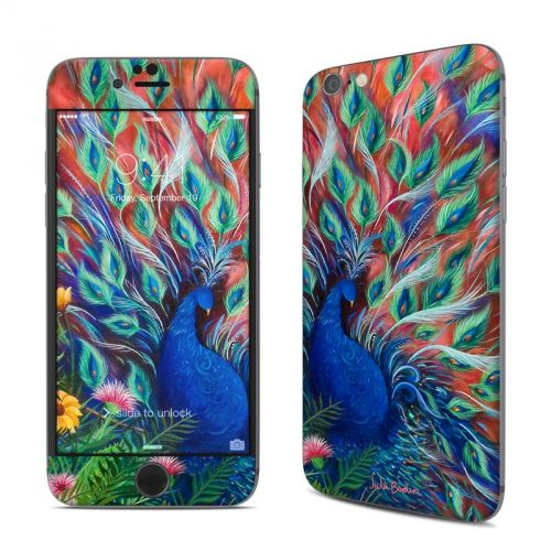Coral Peacock iPhone 6s Skin