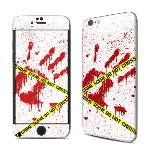 Crime Scene Revisited iPhone 6s Skin