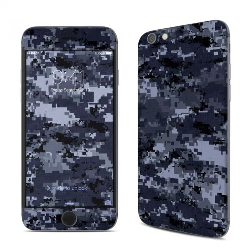 Digital Navy Camo iPhone 6s Skin