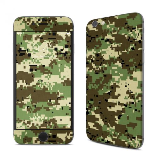 Digital Woodland Camo iPhone 6s Skin