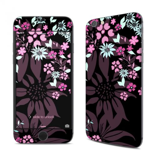 Dark Flowers iPhone 6s Skin