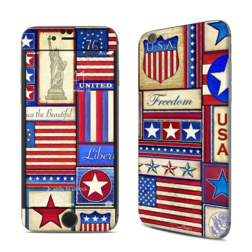 Flag Patchwork iPhone 6s Skin