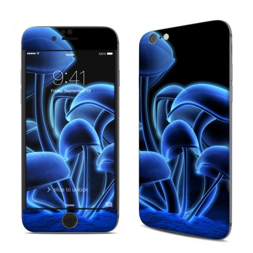 Fluorescence Blue iPhone 6s Skin