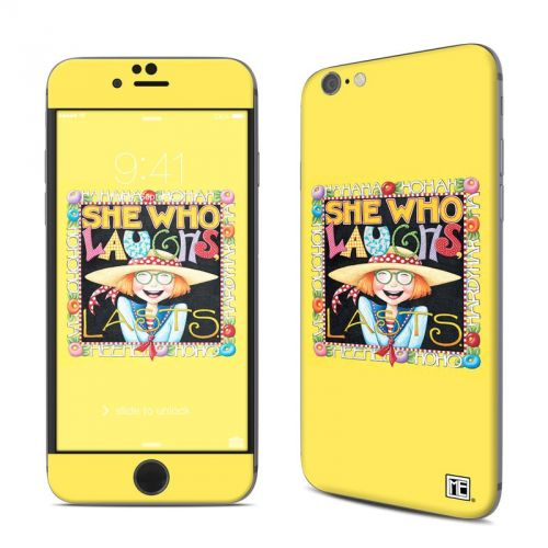She Who Laughs iPhone 6s Skin