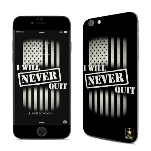 Never Quit iPhone 6s Skin