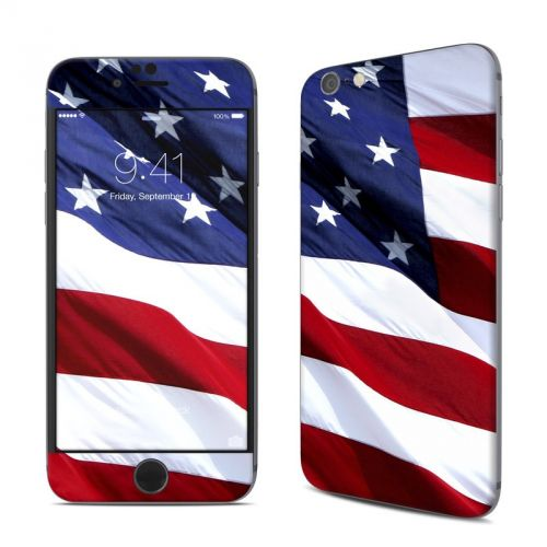 Patriotic iPhone 6s Skin