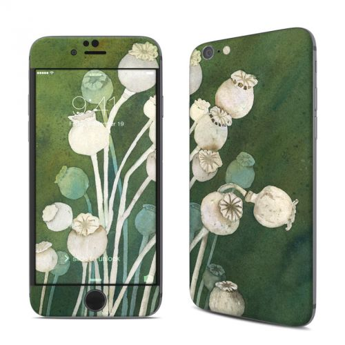 Poppy Pods iPhone 6s Skin