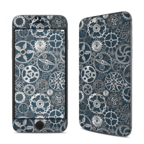 Silver Gears iPhone 6s Skin