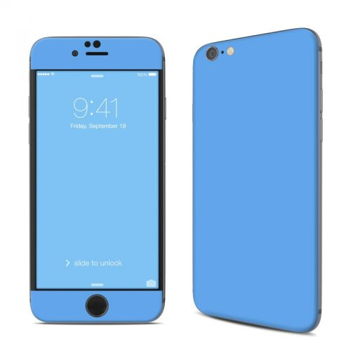 Solid State Blue iPhone 6s Skin