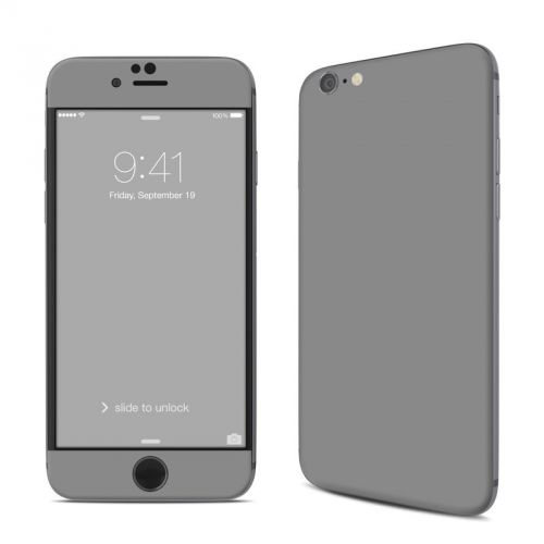 Solid State Grey iPhone 6s Skin