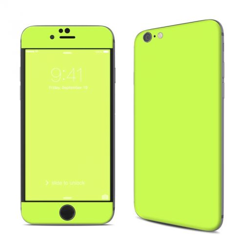 Solid State Lime iPhone 6s Skin
