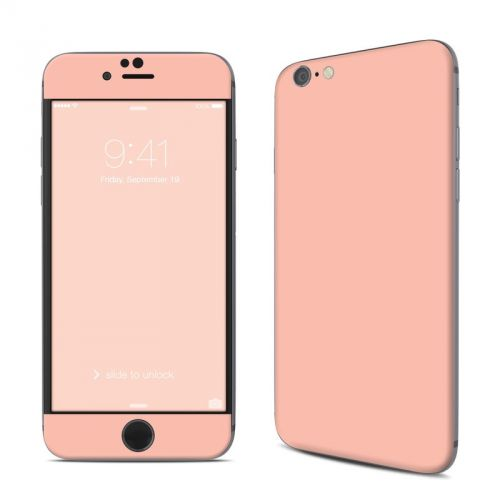 Solid State Peach iPhone 6s Skin