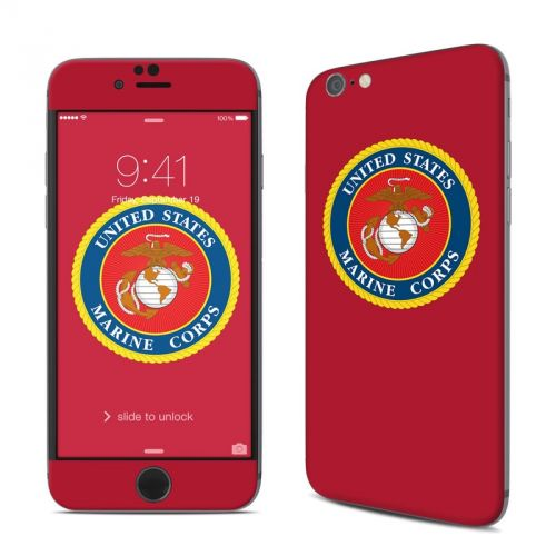 USMC Red iPhone 6s Skin