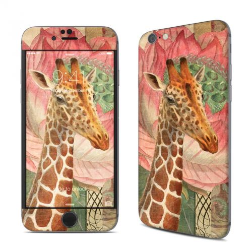 Whimsical Giraffe iPhone 6s Skin
