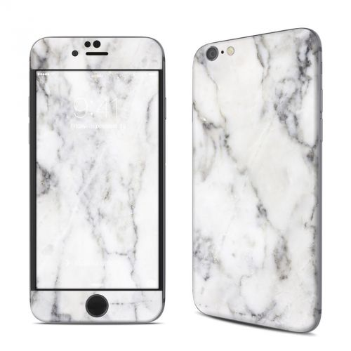 White Marble iPhone 6s Skin