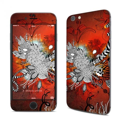 Wild Lilly iPhone 6s Skin