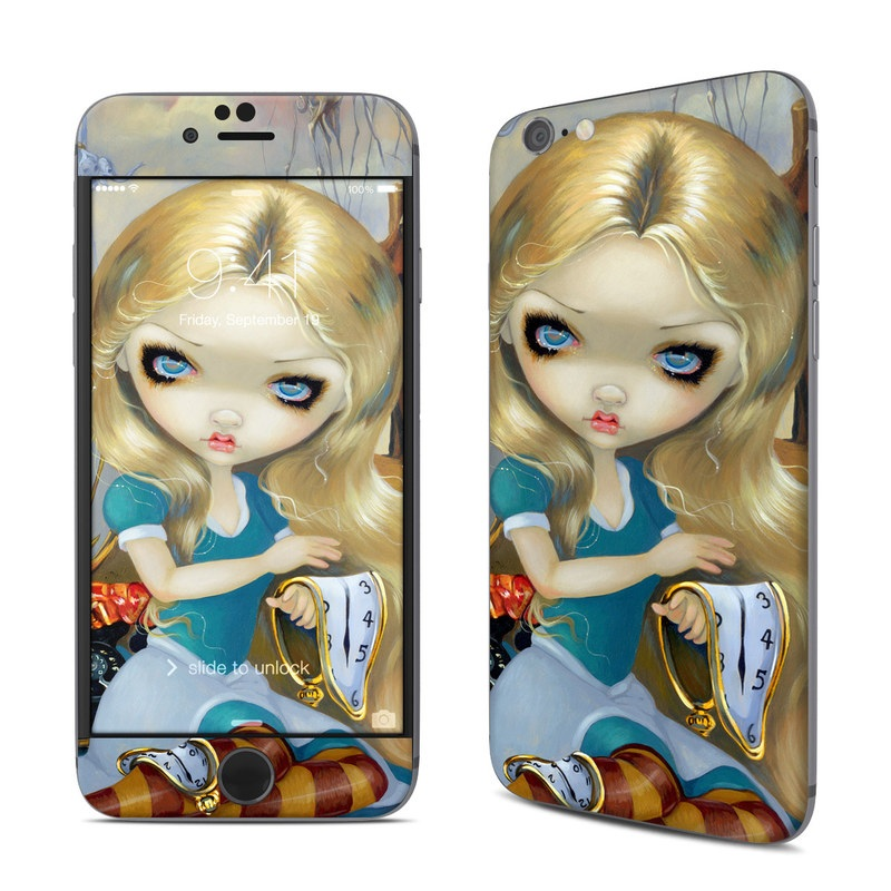 Alice in a Dali Dream iPhone 6s Skin