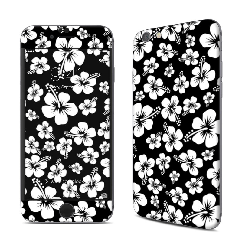 Aloha Black iPhone 6s Skin