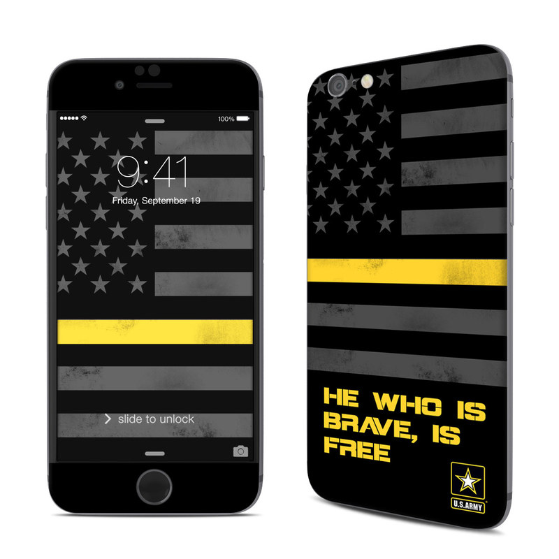 Brave is Free iPhone 6s Skin