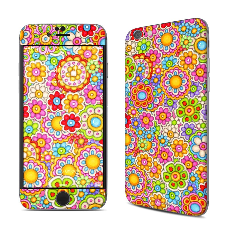 Bright Ditzy iPhone 6s Skin