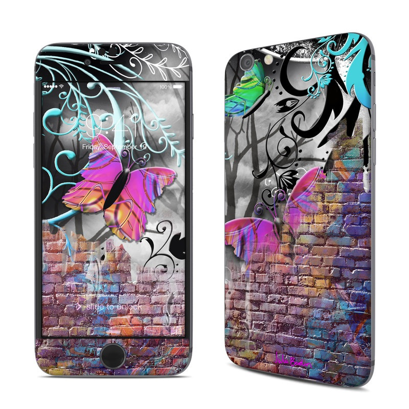 Butterfly Wall iPhone 6s Skin