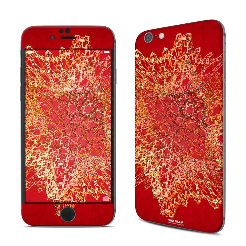 Dodecahedron Cage iPhone 6s Skin