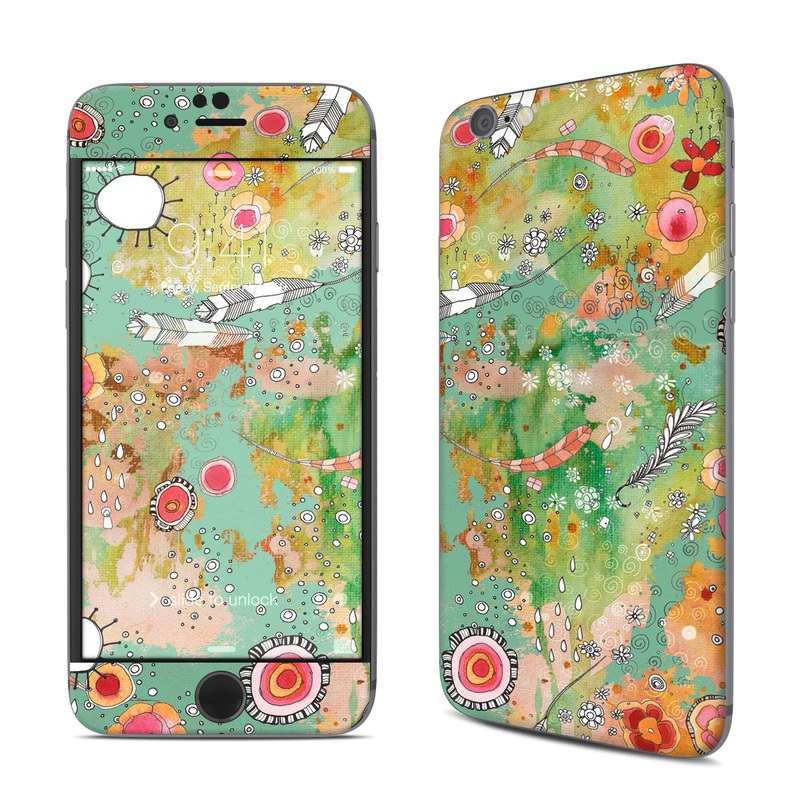 Feathers Flowers Showers iPhone 6s Skin