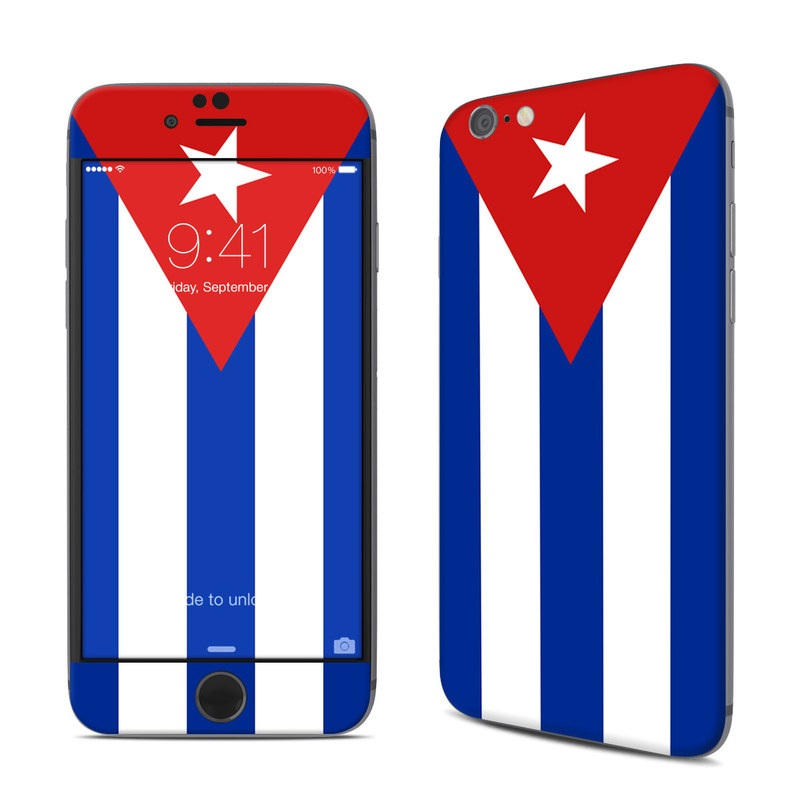 Cuban Flag iPhone 6s Skin