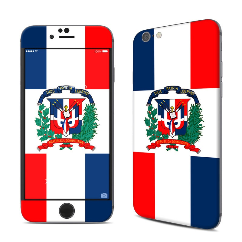 Dominican Republic Flag iPhone 6s Skin