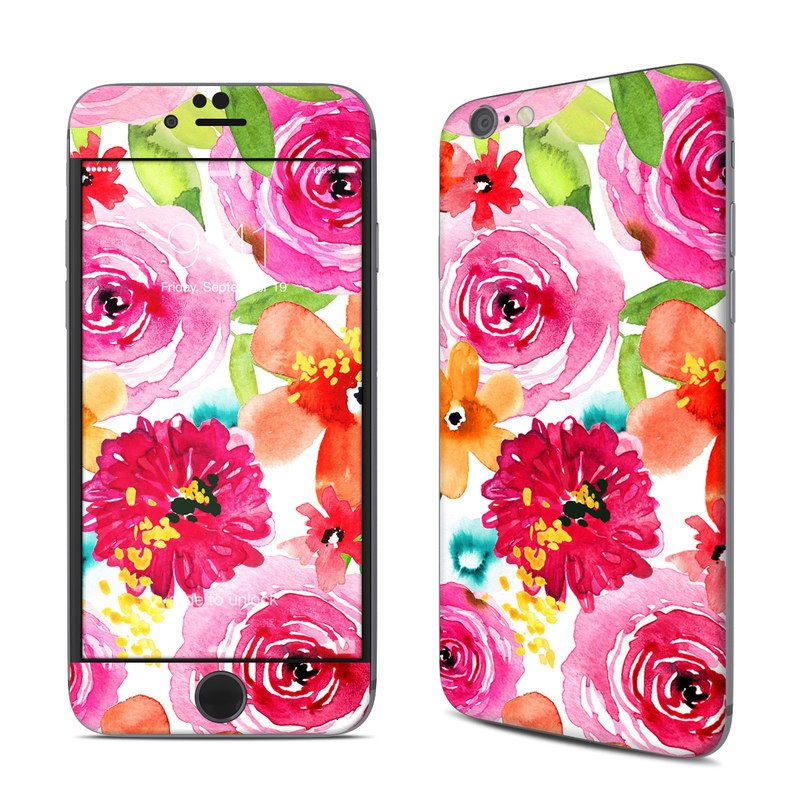Floral Pop iPhone 6s Skin