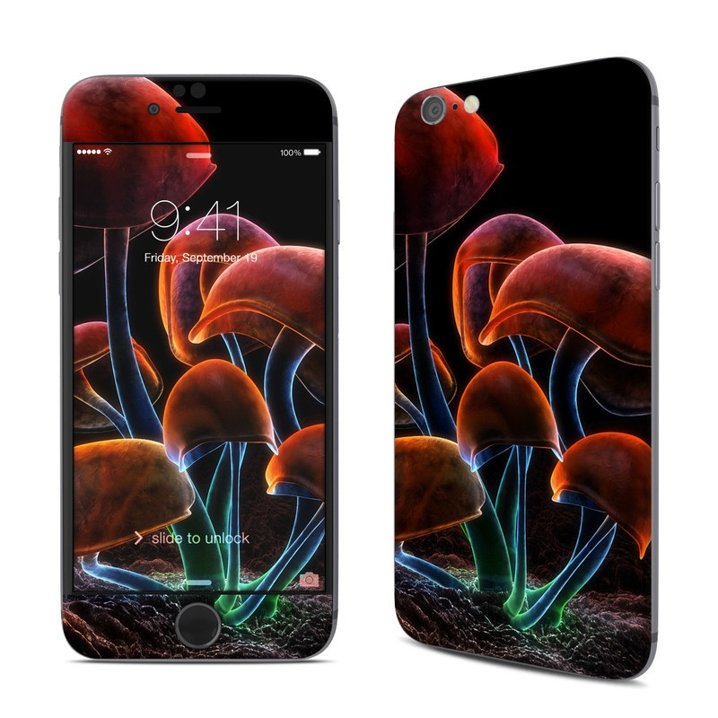 Fluorescence Rainbow iPhone 6s Skin