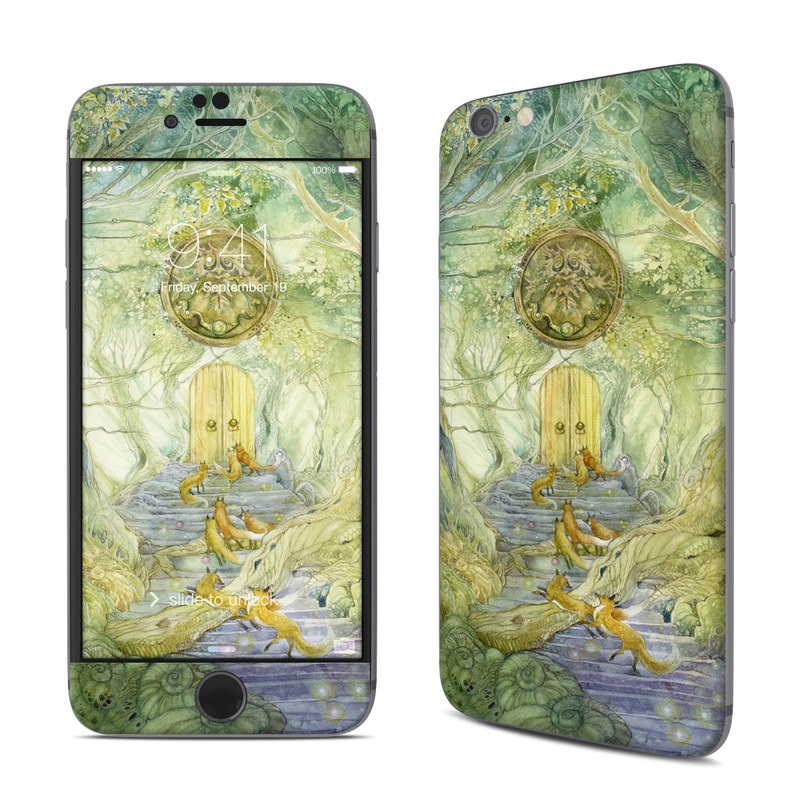 Green Gate iPhone 6s Skin