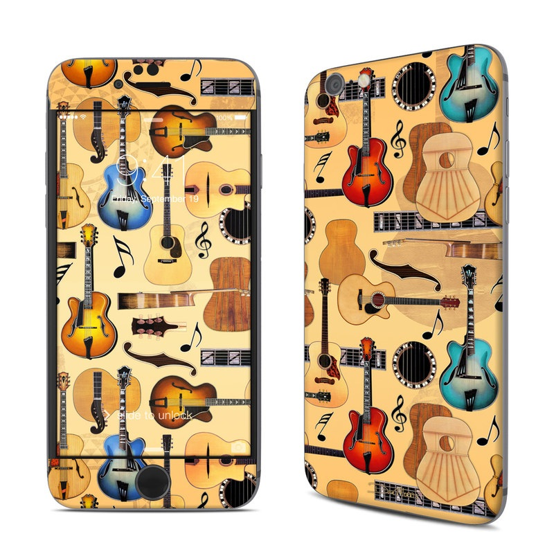 Guitar Collage iPhone 6s Skin