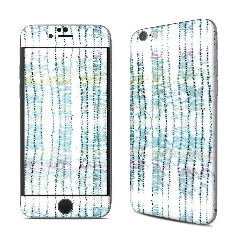 iPhone 6s Skin design of Turquoise, Aqua, Teal, Pattern, Line with white, black, blue, green colors