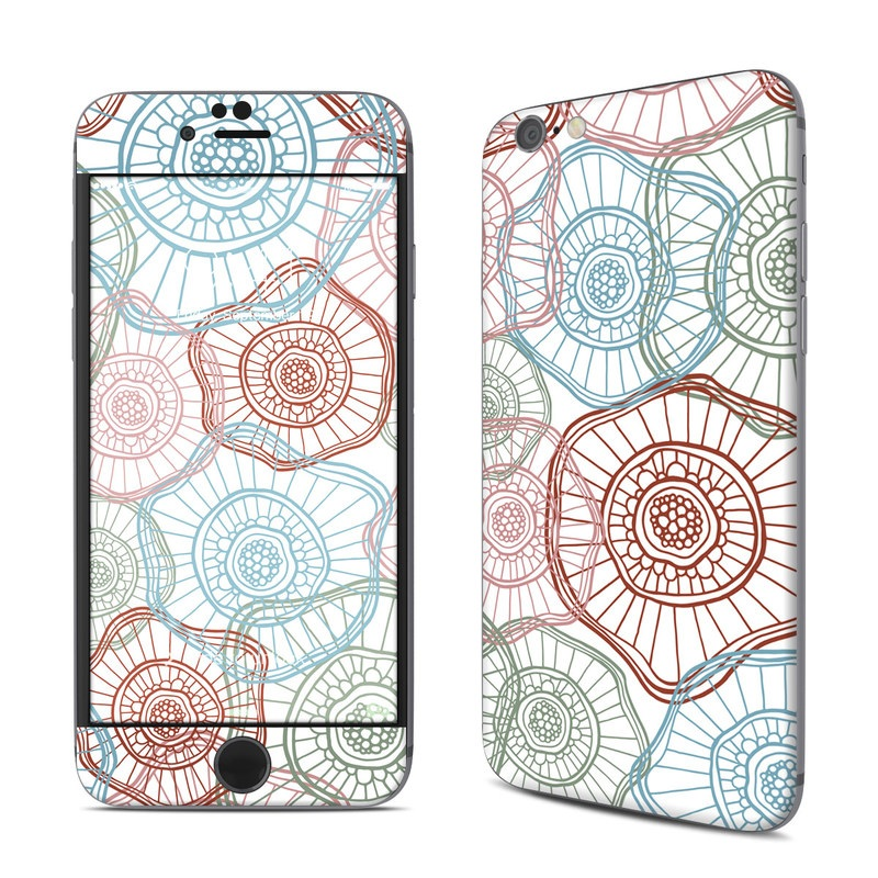 Micro Flowers iPhone 6s Skin