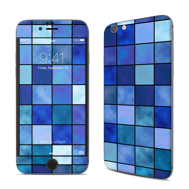Blue Mosaic iPhone 6s Skin