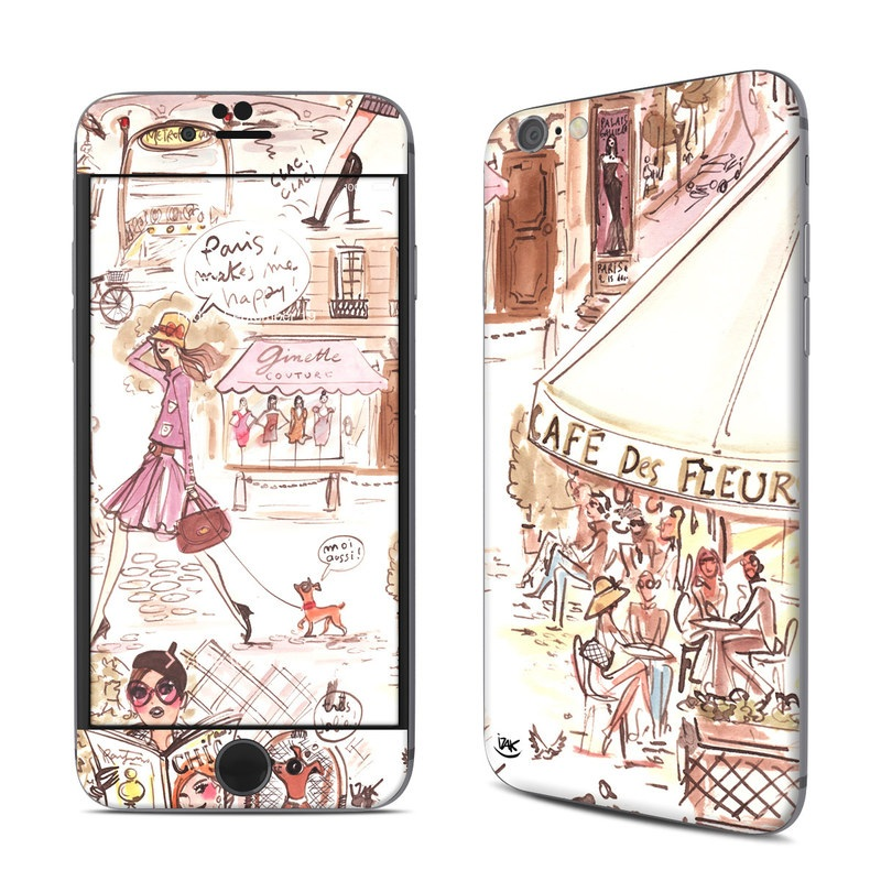 Paris Makes Me Happy iPhone 6s Skin