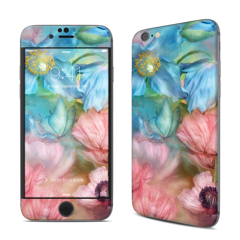 Poppy Garden iPhone 6s Skin