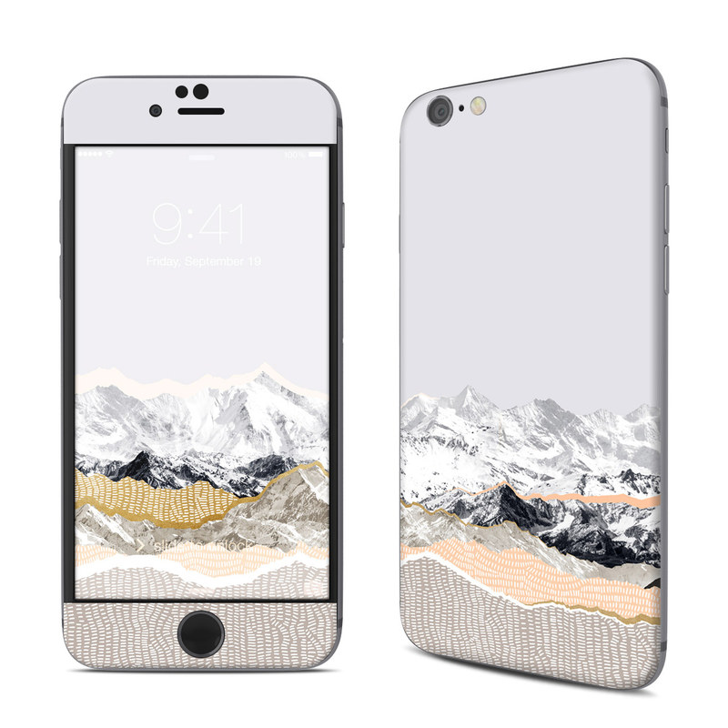 Pastel Mountains iPhone 6s Skin