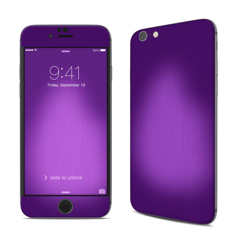 Purple Burst iPhone 6s Skin
