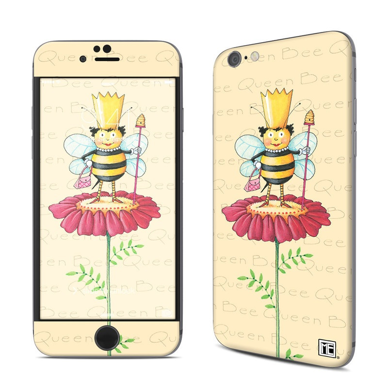 iPhone 6s Skin design of Cartoon, Cut flowers, Flower, Clip art, Plant, Fictional character, Illustration, Wildflower, Plant stem, Drawing with pink, gray, red, orange, green colors