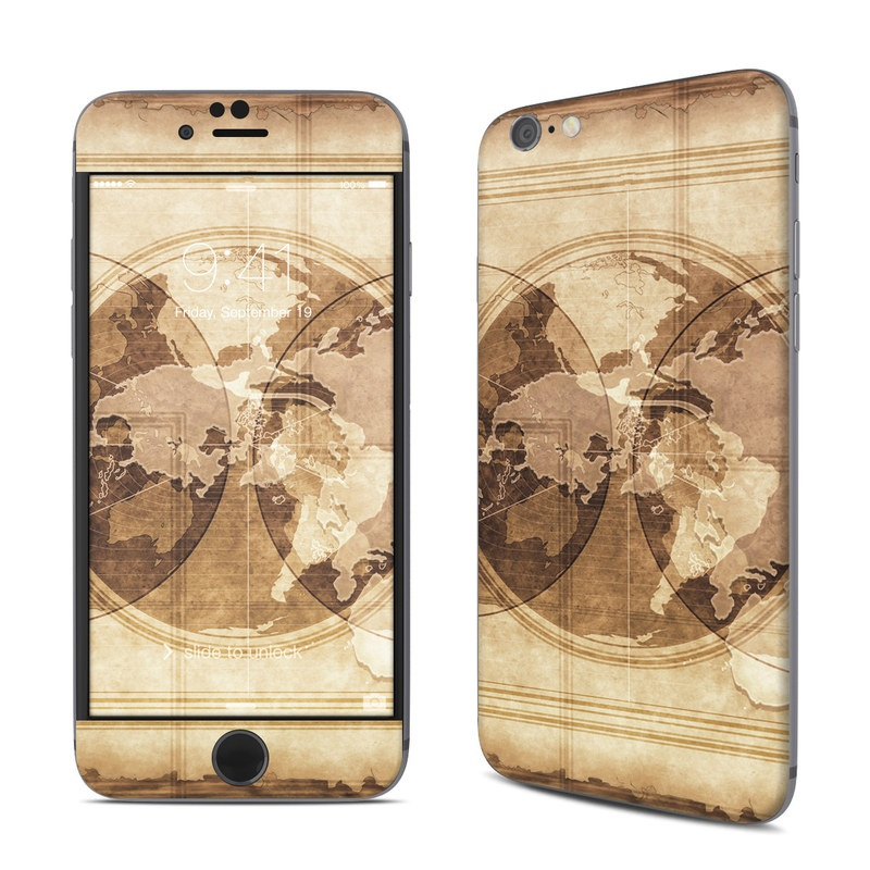 iPhone 6s Skin design of Textile, Stock photography, Art, Pattern, Visual arts, Tapestry, Still life, Beige, Rectangle, World with gray, green, black, red colors