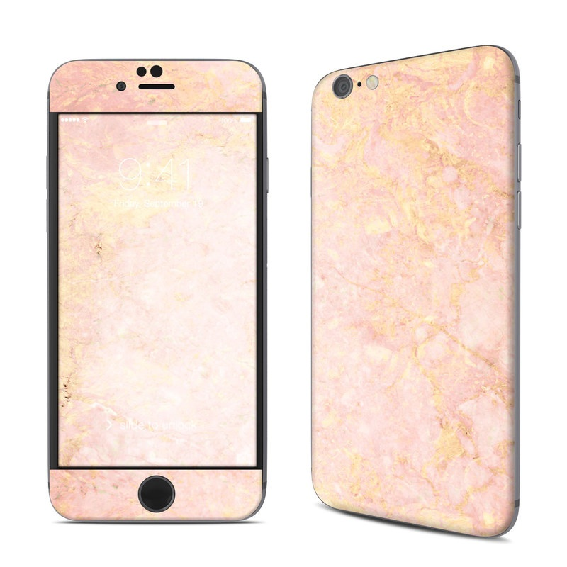 quality design 4995e d058f Rose Gold Marble iPhone 6s Skin