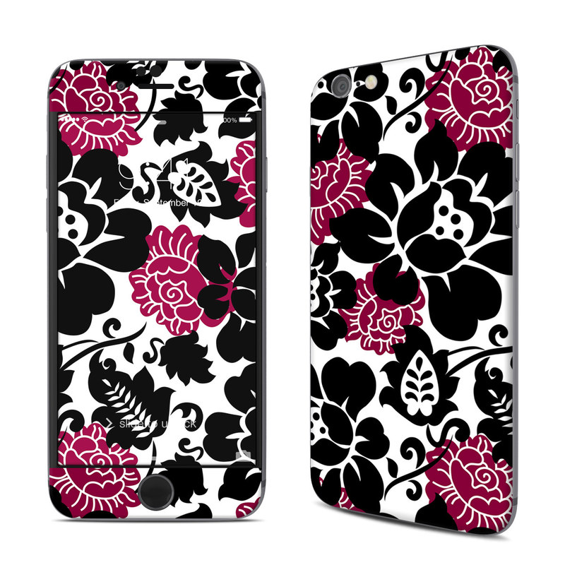 Rose Noir iPhone 6s Skin