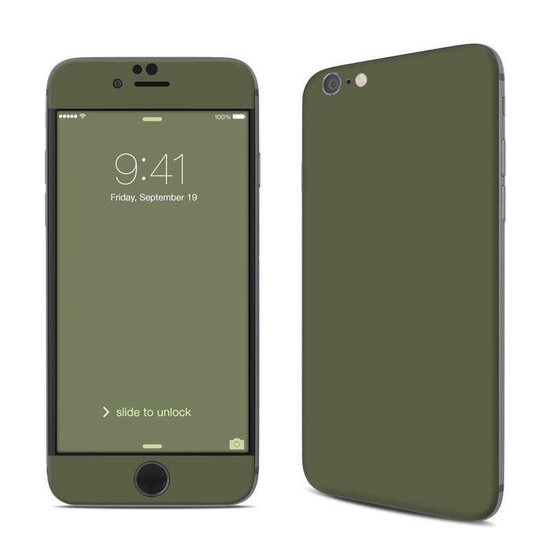 Solid State Olive Drab iPhone 6s Skin